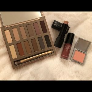 Urban Decay Naked Basics, and Trust Fund extras